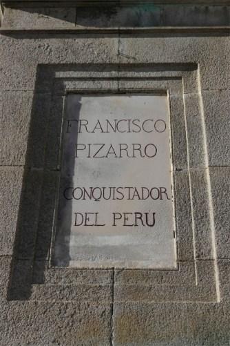 Monument to Francisco Pizarro, Trujillo, Extremadura, Spain