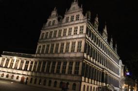 Ghent Stadhuis at night, Belgium
