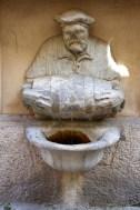 The Facchino 'Talking Statue', Rome, Italy