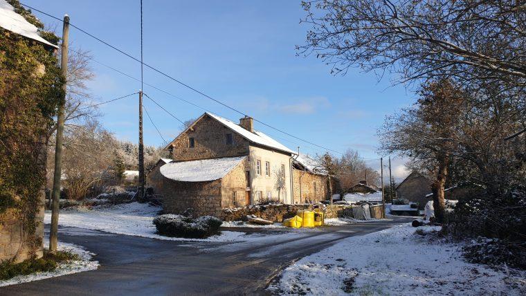 barn door beam