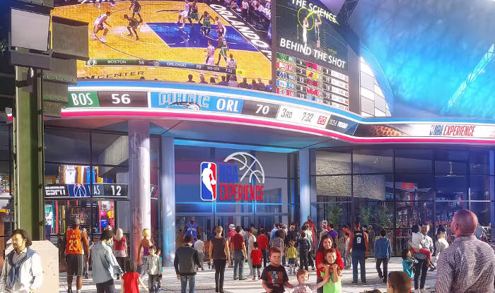 Image result for nba experience disney springs