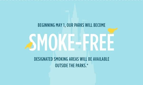 A map of the new smoking areas at Walt Disney World - Notes ...