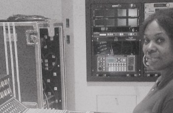 Recordingstudioblackandwhite