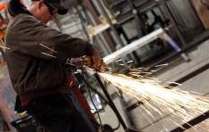 Scott grinding away at work