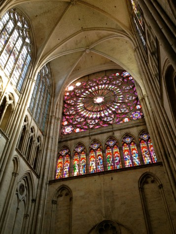 The cathedral in Troyes