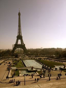 Beautiful day in Paris.