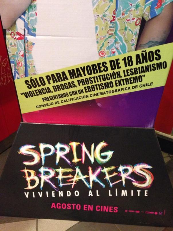 publicidad Spring Breakers