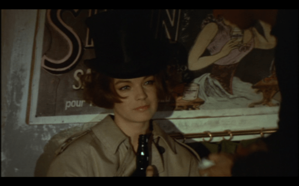 Romy Schneider in a Blue Angel Hat but evoking a sweetness and innocence forever outside Dietrich's powers.