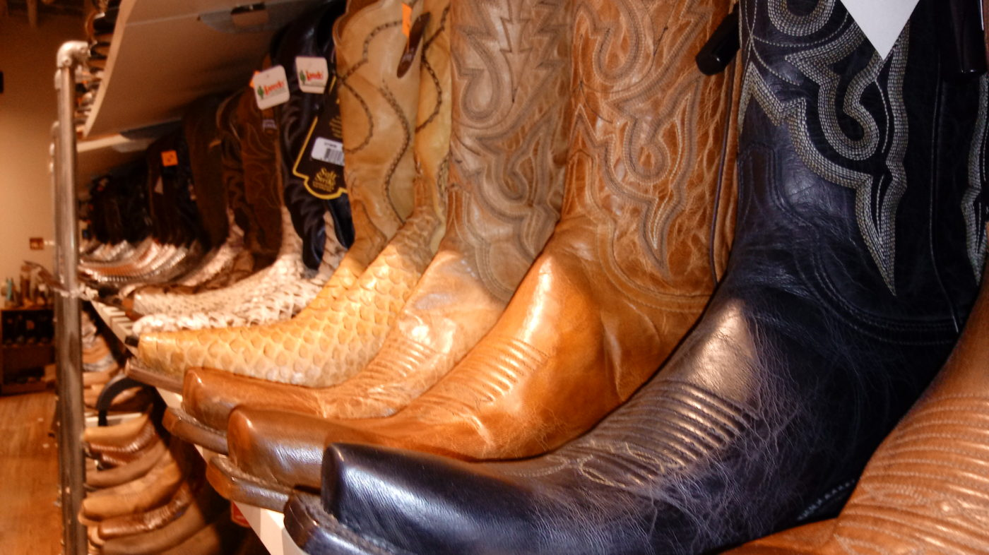 Boots are big as Nashville souvenirs