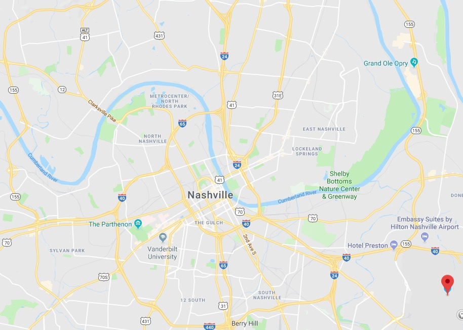 Traveling to Nashville by car or plane