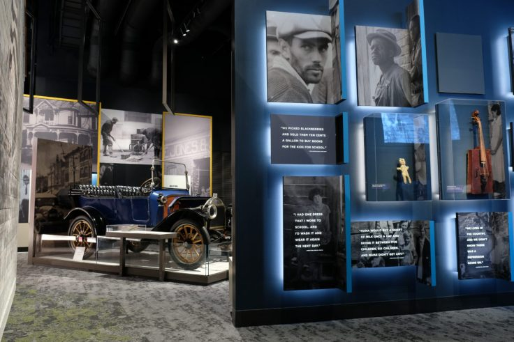 Exhibits at TN State Museum, Nashville