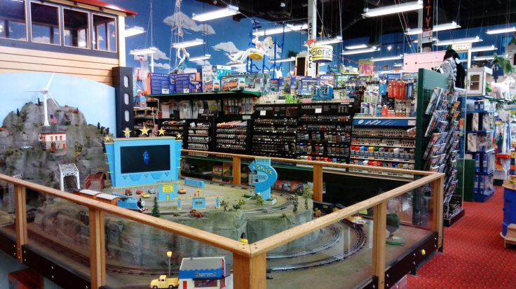 Kids will love Phillips Toy Mart