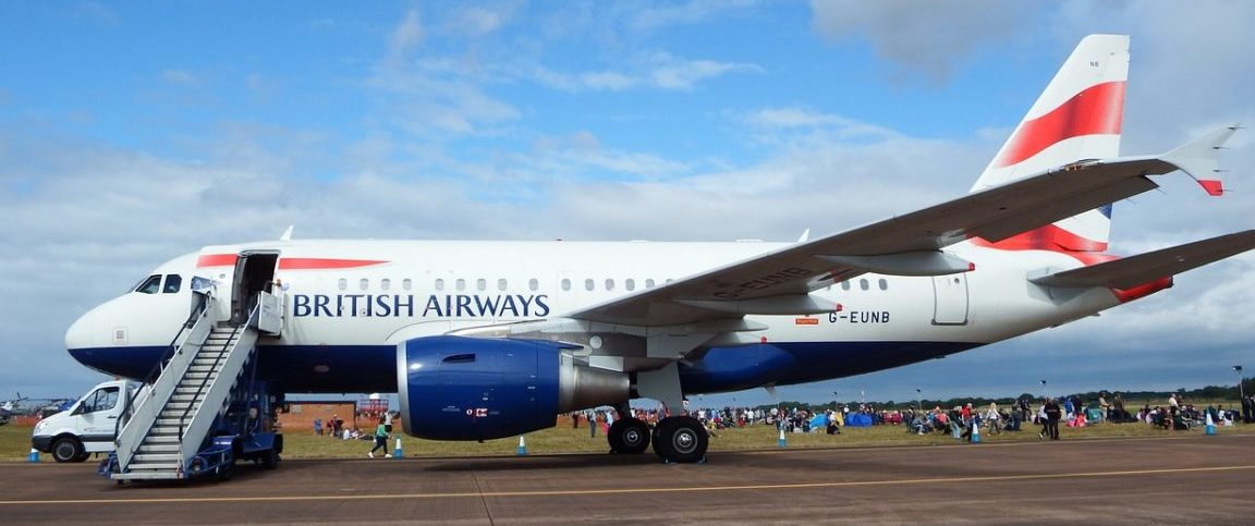 Direct flights from England to Nashville airport on British Airways