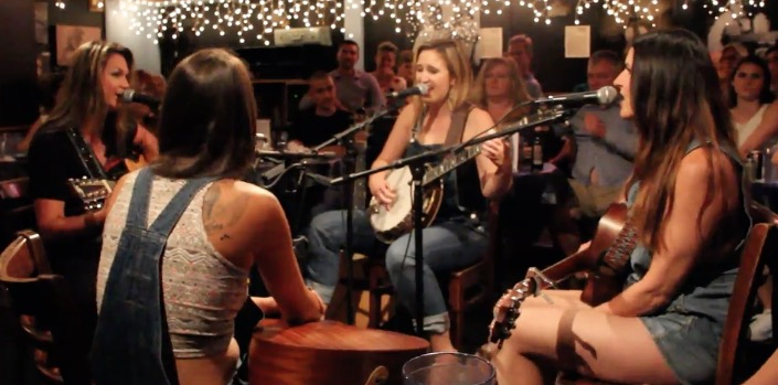 Songwriter nights at the Bluebird