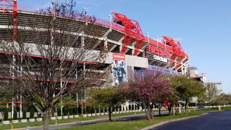 Spectator sports Titans at Nissan stadium