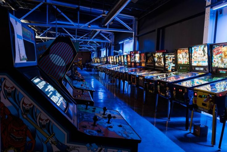 Game Terminal for video games, pinball and moreames,