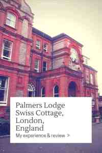 The Palmers Lodge Swiss Cottage hostel in London, UK, was the perfect first hostel to visit and a bit of a spoil as the design, the service, and the amenities make this one of the best hostels I've been to. Ever.