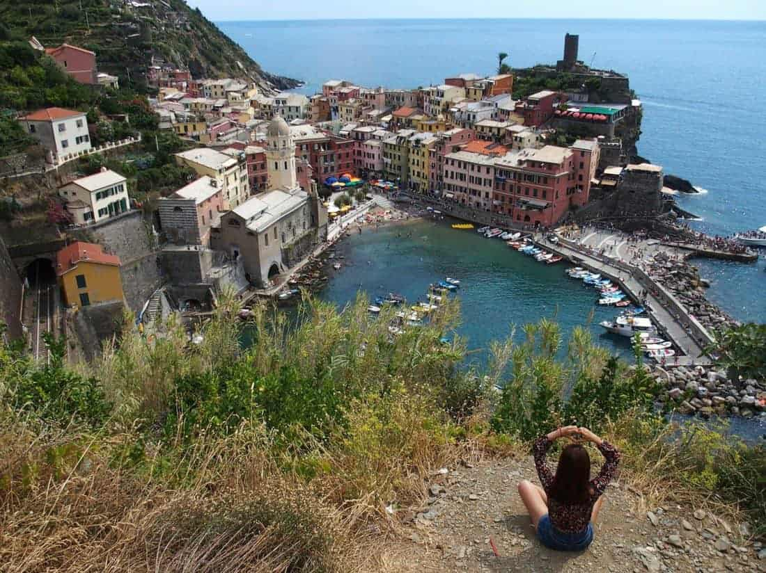 Navigating Cinque Terre by boat, train, bus and on foot