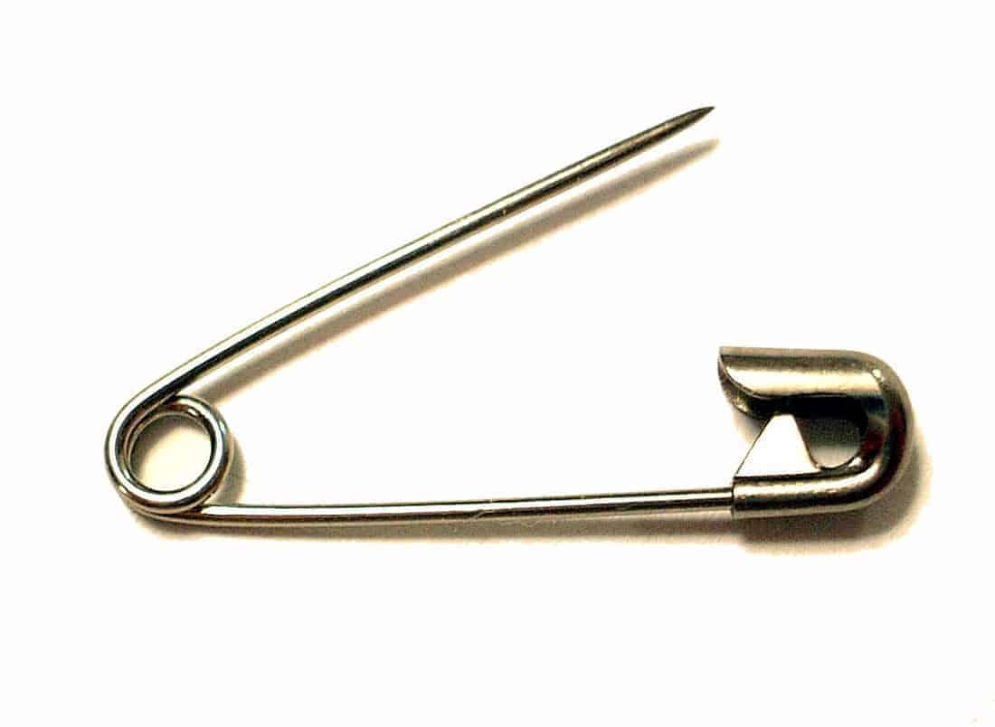 Safety pin -- Why every traveler needs one in their backpack