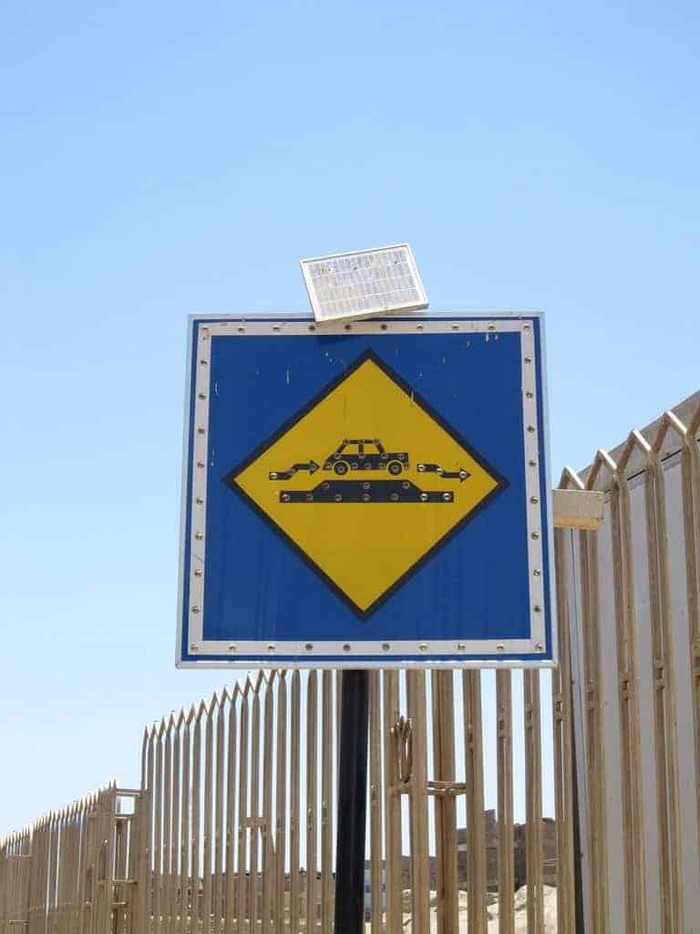 Sign in Aswan, Egypt (2012-07)
