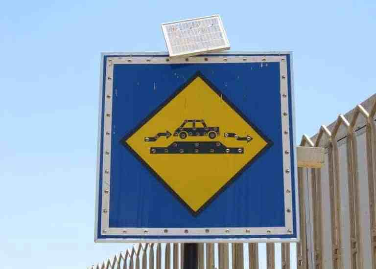 Sign in Aswan, Egypt (2012-07)