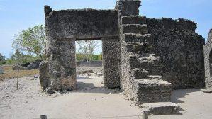 Ruins on ONE trip in Bagamoyo, Tanzania (2009-10)