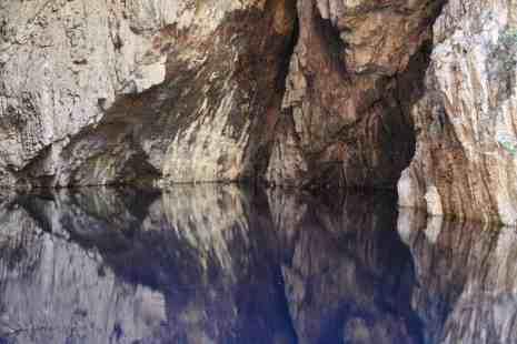 Mirror water in Chinhoyi Caves National Park, Zimbabwe (2012-04)