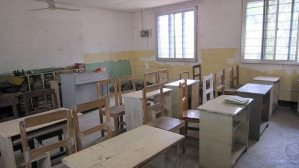 School desks on ONE trip to Dar es Salaam, Tanzania (2009-10)