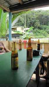 Crossing the Equator beer, Gabon (2012-01)