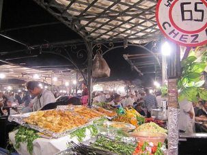 The joys of camping: Ferdaous Camping, Marrakesh, Morocco