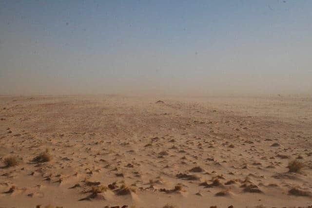 Desert in Mauritania (2011-11)
