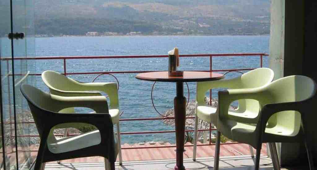 Terrasse by the sea, Samos, Greece (2012-08)