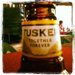 Tusker beer bottle, Nairobi, Kenya (2012-05)