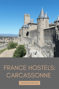 Read my full review of the Carcassonne hostel, incl. how to get there, what to expect, where to eat/drink.