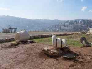 Remains of the Hercules Temple in Amman Citadel, Jordan (2016-12-19)