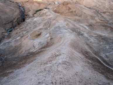 Ramp path at Masada National Park, Israel (2017-01-03)