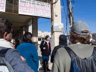 Abraham Tours guide Judy, Hebron, Palestine (2017-01-08)