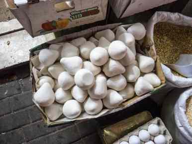 Mansaf Bedouin dried yoghurt, Hebron, Palestine (2017-01-08)