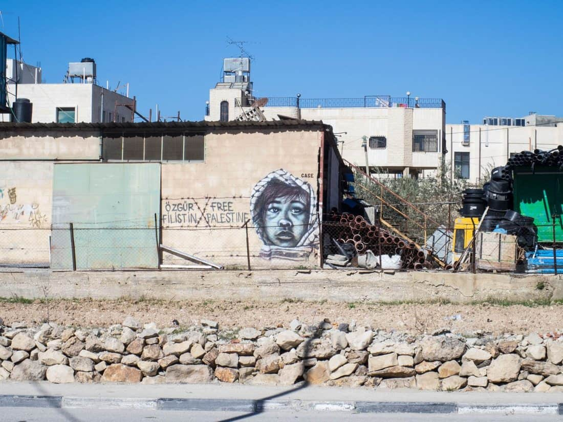 Banksy's Bethlehem -- A street art tour through the city Jesus was born in