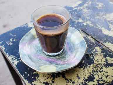 Arab coffee, Jericho, Palestine (2017-01-15)