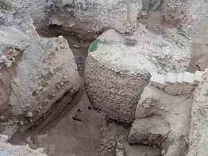 Excavation on Tel as-Sultan, Jericho, Palestine (2017-01-15)