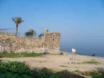 Leaning Tower, Tiberias, Sea of Galilee, Israel (2017-01-19)