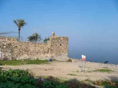 Leaning Tower, Tiberias, Sea of Galilee, Israel (2017-01-19)