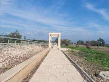 Gospel trail towards Capernaum, Sea of Galilee, Israel (2017-01-22)