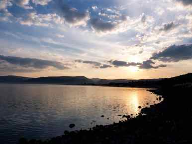 Sunset at Tabgha, Capernaum, Sea of Galilee, Israel (2017-01-22)