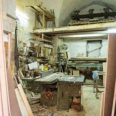 Carpenter shop in the old city, Nazareth, Israel (2017-02-03)