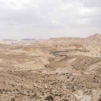 Back in the desert towards Sde Boker, Israel (2017-02-09)