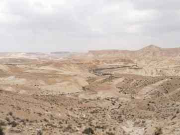 Back in the desert towards Sde Boker, Israel (2017-02-09)