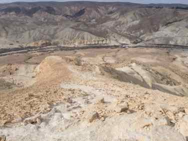 Seeing Sde Boker on the other side of the canyon, Israel (2017-02-09)
