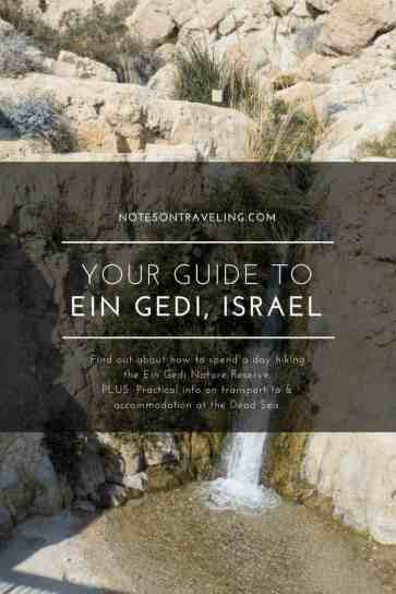I spontaneously went for a day of hiking in Israels largest oasis, Ein Gedi (aka En Gedi Nature Reserve). See what I saw and start planning your visit.